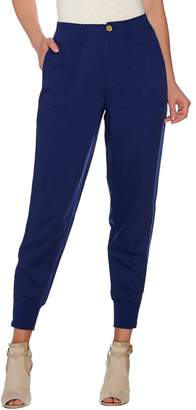 C. Wonder Jogger Pants with Zip Rib Cuff and Pockets