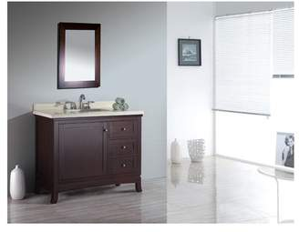 "Ove Decors Valega 42"" Bathroom Vanity Ensemble Set"