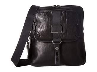 Tumi Alpha Bravo Arnold Leather Zip Flap