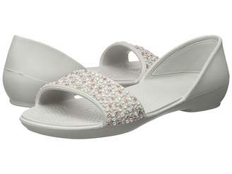 Crocs Lina Embellished Dorsay Women's Sandals