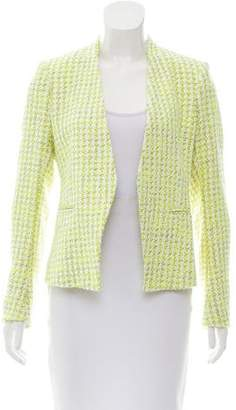Theory Textured Open Front Blazer