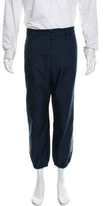 Gucci Plain Weave Jogger Pants