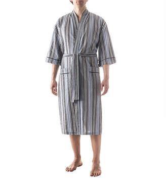 RESIDENCE Residence Seersucker Kimono - Big