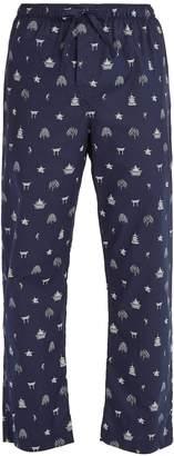Derek Rose Nelson 65 cotton pyjama trousers