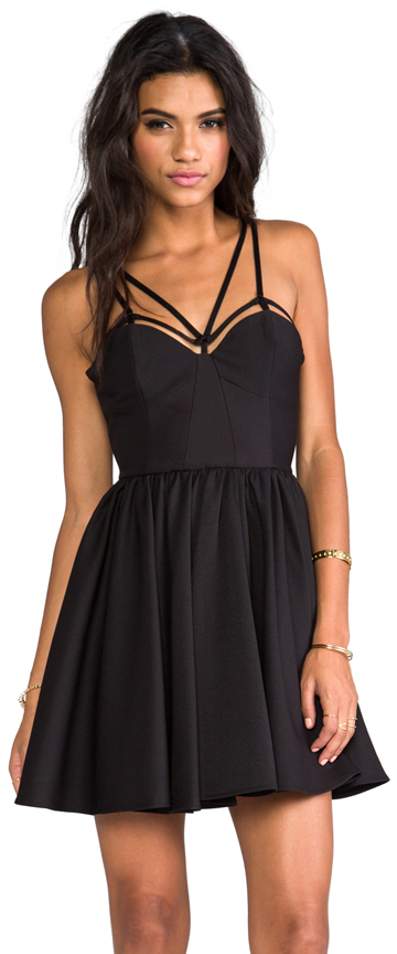 C/Meo District Dress in Black. - size 8/L (also in )