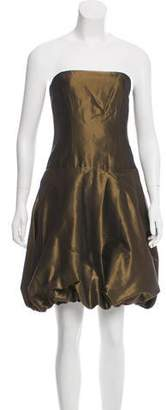 Ralph Lauren Black Label Strapless Metallic Dress w/ Tags