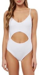 O'Neill Salt Water Solids Cutout One-Piece Swimsuit