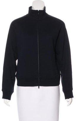 Vince Stand Collar Zip Sweatshirt