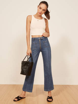Reformation Lilah Top