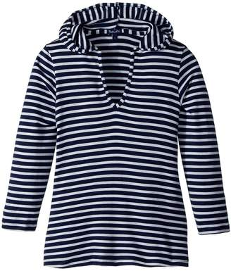 Splendid Littles Stripe Hoodie Tunic Girl's Sweatshirt