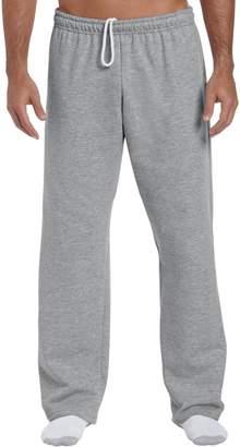 Gildan Mens Heavy Blend Open Bottom Sweatpant / Jogging Pants (M)
