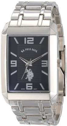 U.S. Polo Assn. Classic Men's USC80003 Rectangular Dial Bracelet Watch