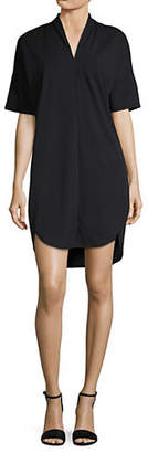 Halston H V-Neck Shift Dress
