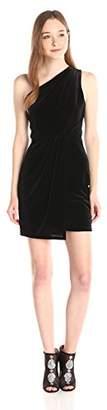 BCBGeneration Women's Asymmetrical-Drape Dress
