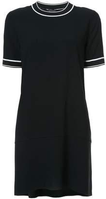 Rag & Bone Thatch contrast trim dress
