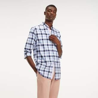 73a04175 Tommy Hilfiger Blue Poplin Men's Shirts - ShopStyle