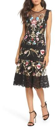 Bronx AND BANCO & Banco Agata Embroidered Fit and Flare Dress