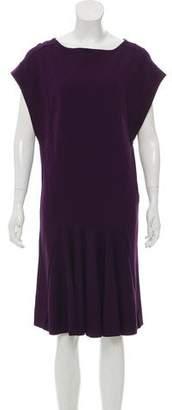 Stella McCartney Cap-Sleeve Knee-Length Dress