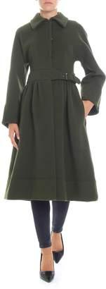 Alberta Ferretti Virgin Wool Coat