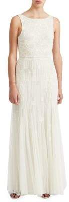 Miss Selfridge Sequin Embellished Sleeveless Gown