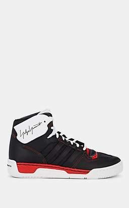 Y-3 Men's Hayworth Leather Sneakers - Black