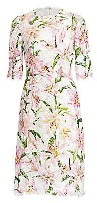 Dolce & Gabbana Women's Lily Lace Sheath Dress