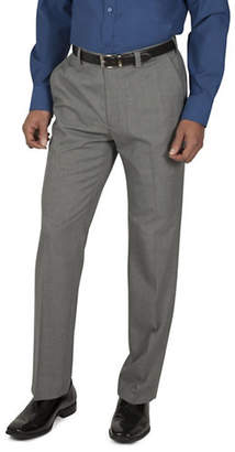 Haggar Houndstooth Straight-Fit Dress Pants
