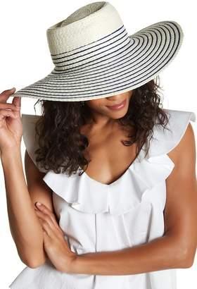 Nordstrom Rack Mixed Stripe Wide Floppy Hat