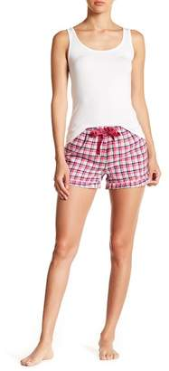 U.S. Polo Assn. Plaid Flannel Shorts