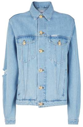 Couture Forte Distressed Denim Jacket