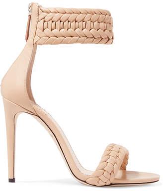 Altuzarra Ghianda Braided Leather Sandals - Neutral