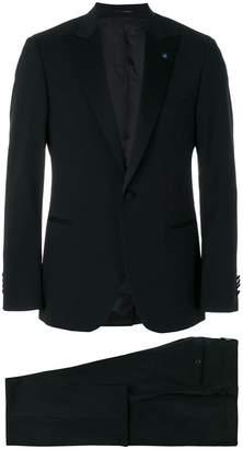 Lardini peaked lapel dinner suit