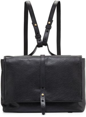 Kelsi Dagger Ainslie Mini Leather Backpack, Black $125 thestylecure.com