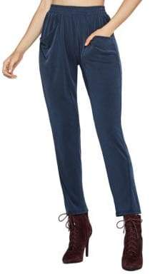 BCBGeneration Sueded Ribbed Harem Pants