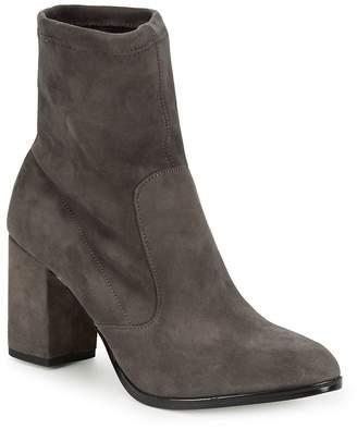 Saks Fifth Avenue Women's Lady Suede Block Heel Booties