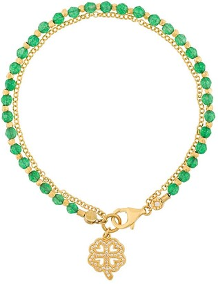 Astley Clarke Four Leaf Clover Biography bracelet