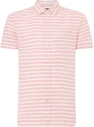 Howick Men's Langton Linen Short Sleeve Shirt