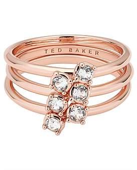 Ted Baker Princess Sparkle Stack Ring