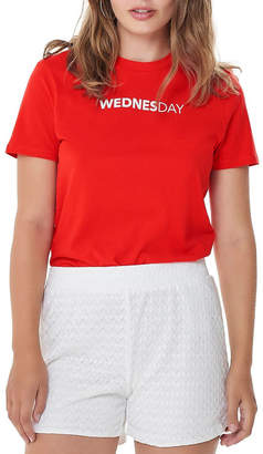 Only onlWEEKDAY S/S TOP BOX JRS