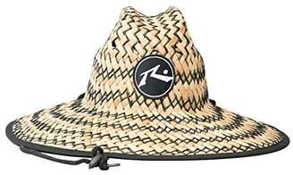 Rusty Men's Boony Straw Lifeguard Hat