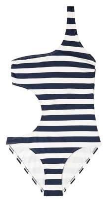 MANGO Nautical assymetric swimsuit