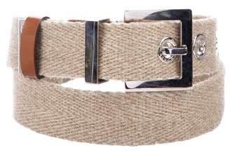 Dolce & Gabbana Woven Buckle Belt