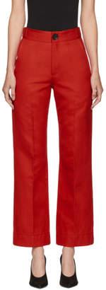Kwaidan Editions Red Lockwood Trousers