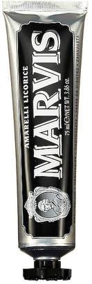 Marvis Amarelli Licorice Mint.