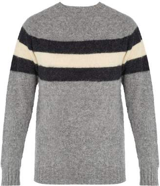 Howlin' - Striped Wool Sweater - Mens - Grey