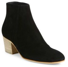 Vince Haider Suede Ankle Boots $395 thestylecure.com