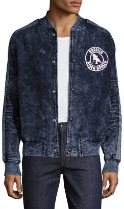 PRPS Goods & Co. Denim Bomber Jacket