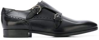 Salvatore Ferragamo buckle-strap brogues
