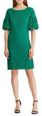 Lauren Ralph Lauren Jenessa Lace Bell Sleeve Dress