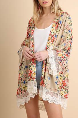Umgee Floral Bombshell kimono